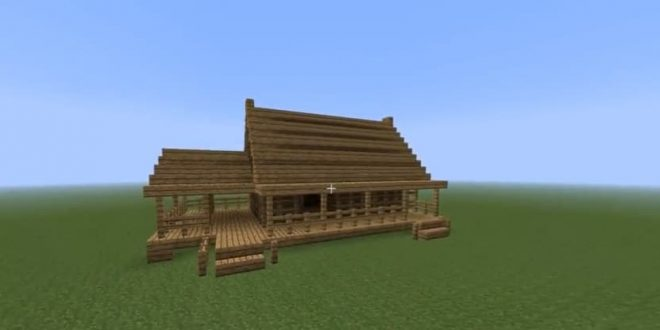 How to build a fast wooden house minecraft house design - Quick build houses ...