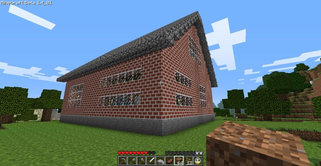 Superb Cozy 2 Story Brick House Minecraft House Design Inspirational Interior Design Netriciaus