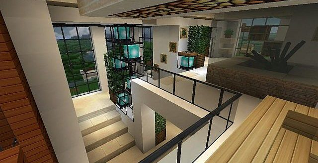 Modern house with style minecraft build 10 minecraft for Very modern houses
