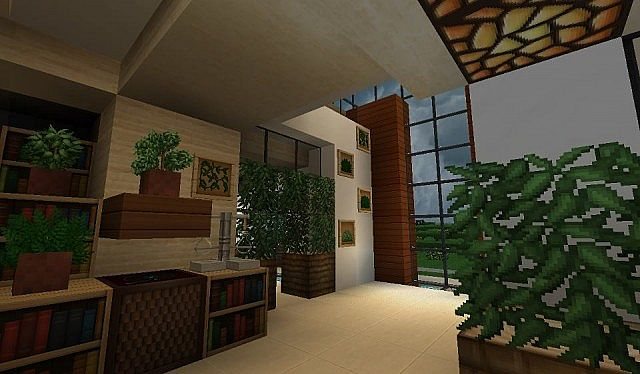 Modern house with style minecraft build 6 – Minecraft House Design