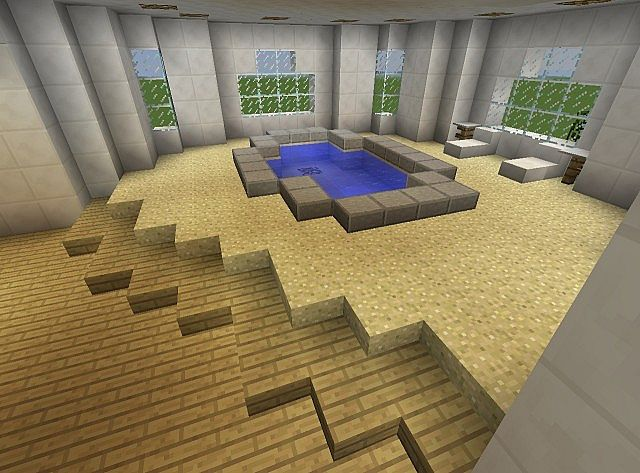 Townhouse Mansion minecraft house designs 5