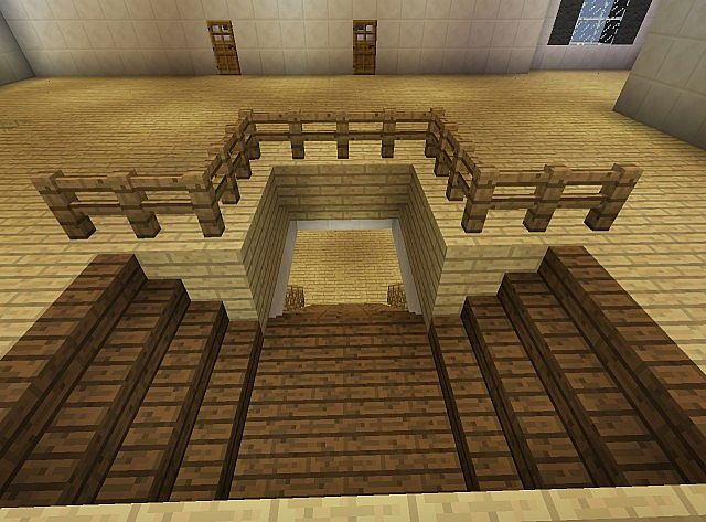 Townhouse Mansion minecraft house designs 6
