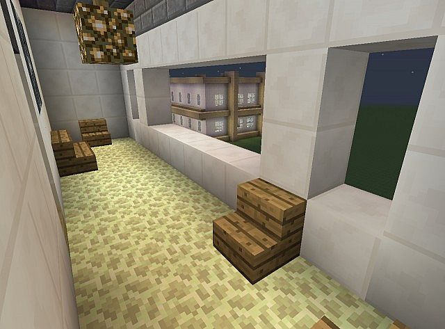 Townhouse Mansion minecraft house designs 7