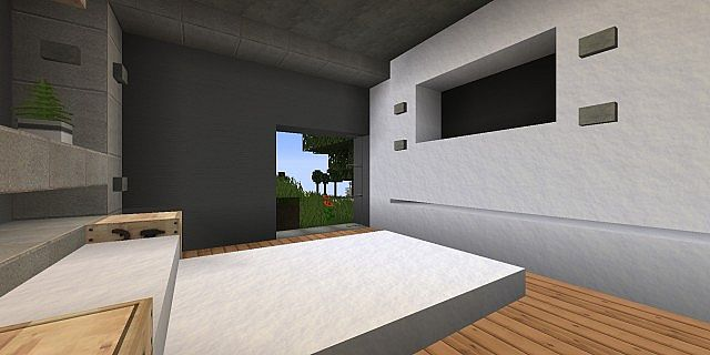 Tranquility A Modern Cliffside Home minecraft house design 9