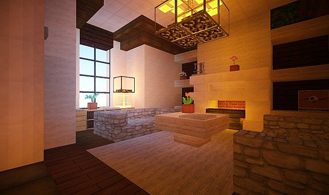 Mediterranean Estate Minecraft house ideas 4