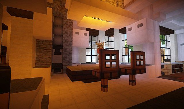 Mediterranean Estate Minecraft House Design