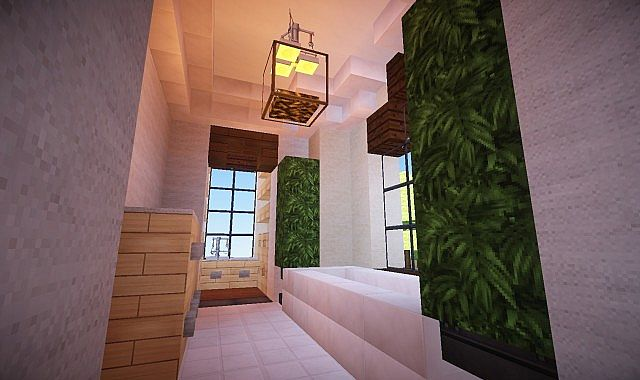Mediterranean Estate Minecraft house ideas 9
