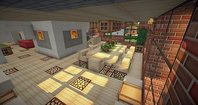 Brick Modern House Minecraft