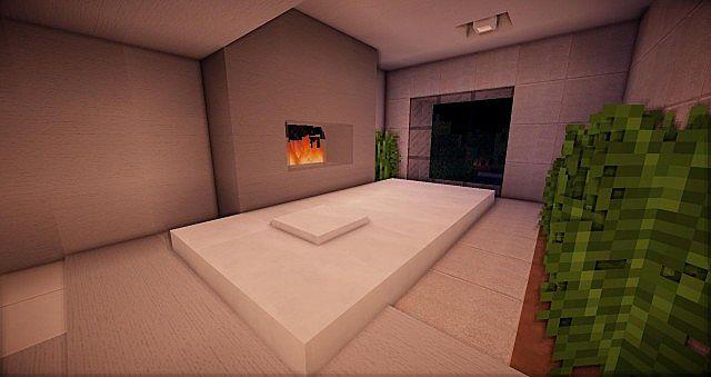 Buzzone Minimalist house minecraft house ideas 10
