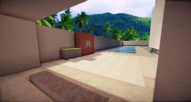 Buzzone Minimalist house minecraft house ideas 2