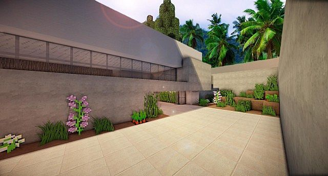 Buzzone Minimalist house minecraft house ideas 3