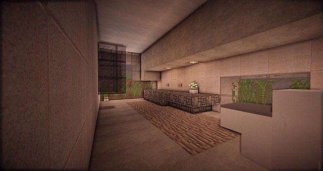 Buzzone Minimalist house minecraft house ideas 4