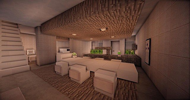 Buzzone minimalist house minecraft house design for Minimalist house 2014