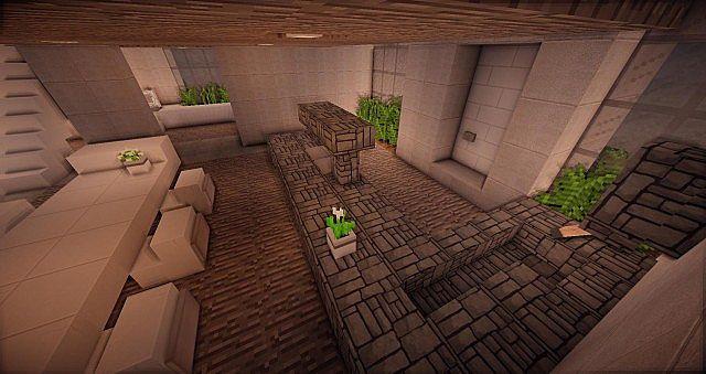 Buzzone Minimalist house minecraft house ideas 6