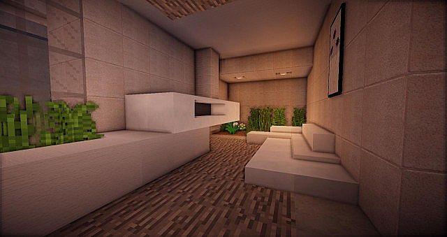 Buzzone Minimalist house minecraft house ideas 7