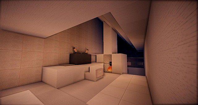 Buzzone Minimalist house minecraft house ideas 9