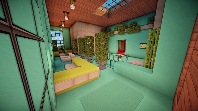 Cascade Modern Mansion Minecraft House Design
