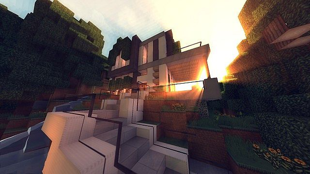 Modern Cliffside House Minecraft House Design