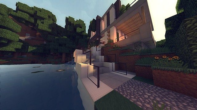 Modern Cliffside house building ideas timelapse 5
