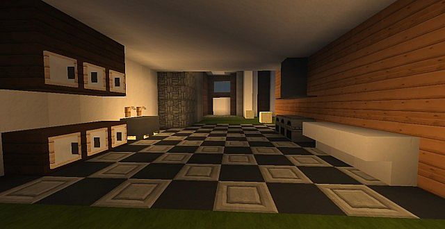 Novus - Modern House minecraft building ideas home 15