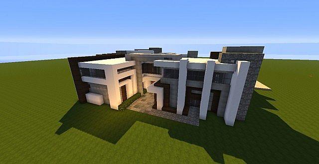 Novus | Modern House - Minecraft House Design