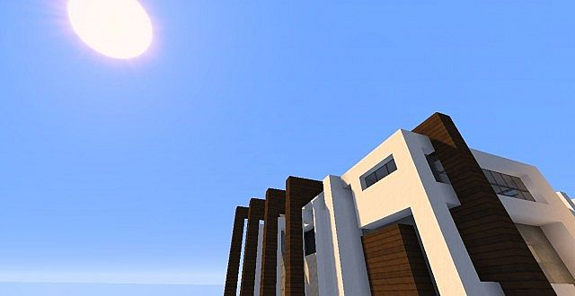 Novus - Modern House minecraft building ideas home 4