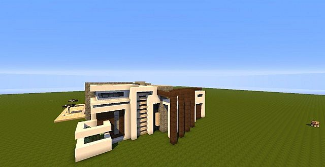 Novus - Modern House minecraft building ideas home 5