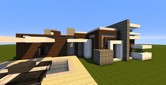 Novus - Modern House minecraft building ideas home 7
