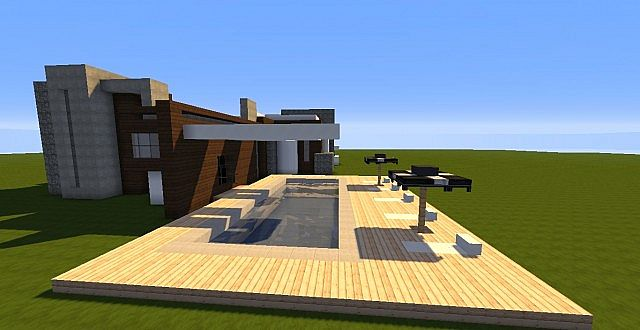 Novus - Modern House minecraft building ideas home 8