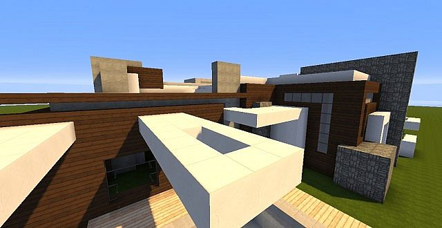 Novus - Modern House minecraft building ideas home 9