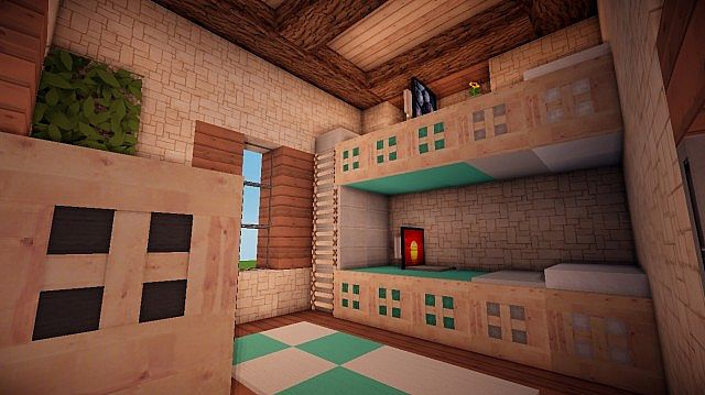 Small Suburban House Minecraft building ideas 11