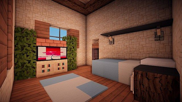 Small Suburban House Minecraft building ideas 12