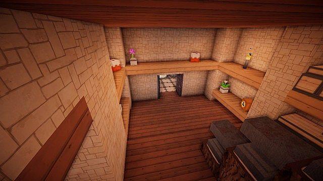 Small Suburban House Minecraft building ideas 13