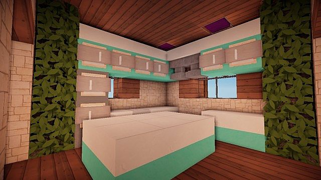 Small Suburban House Minecraft building ideas 6