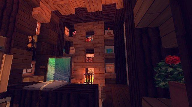 Contemporary Craftsman Home Minecraft House Design