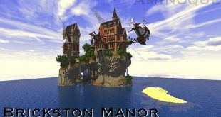 the builder aminoque lore brickston manor is an isolated government estate specifically made for a safety escape during sieges or related situations - Minecraft Design Ideas