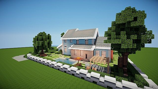 Suburban house project minecraft house design - Minecraft house ideas ...
