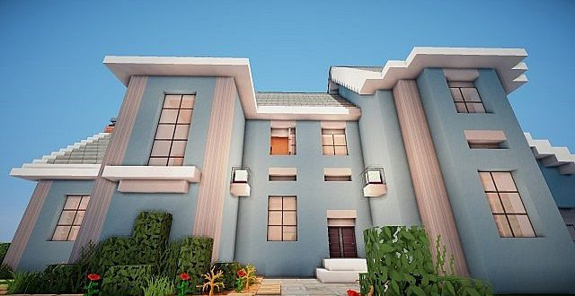 Suburban house project minecraft house design for Project home designs