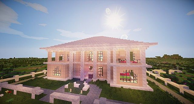 Minecraft wooden house minecraft house design for House build ideas