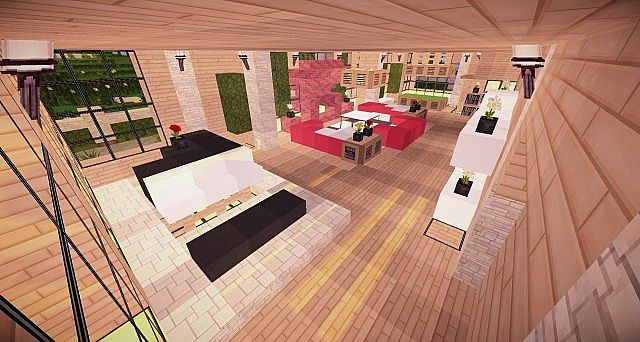Minecraft wooden house build ideas 4