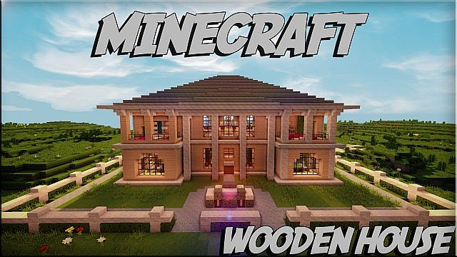 Minecraft Wooden House Minecraft House Design