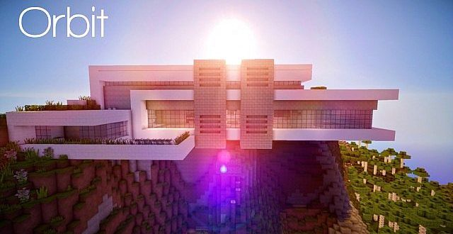orbit | modern mountain home – minecraft house design