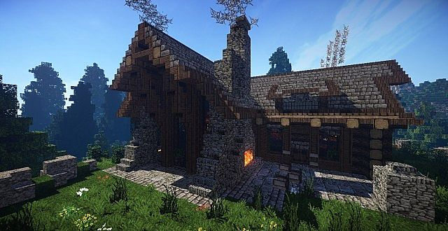 cozy rustic villa minecraft how to house download 2