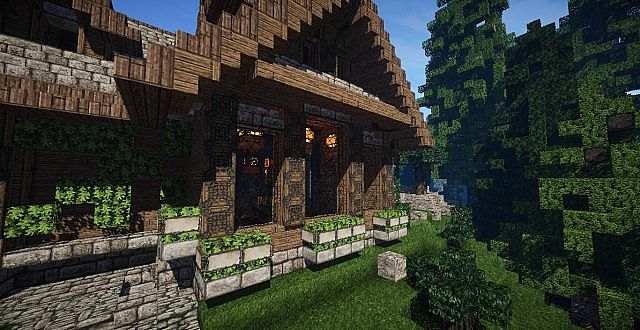 cozy rustic villa minecraft how to house download 4