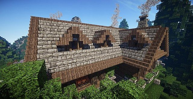 cozy rustic villa minecraft how to house download 9