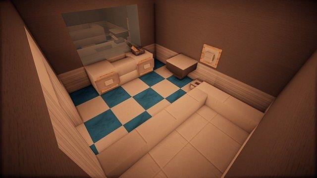 Prologue Modern House build minecraft 11