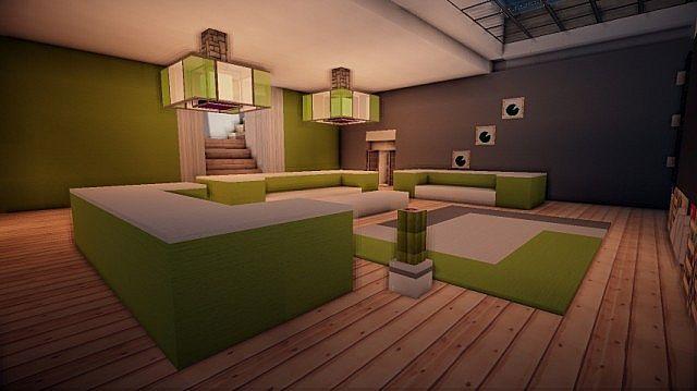 Prologue Modern House build minecraft 14