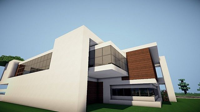 Prologue Modern House build minecraft 3