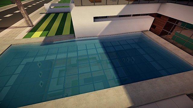 Prologue Modern House build minecraft 5