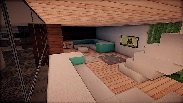 Prologue Modern House build minecraft 6